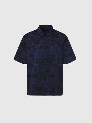 S-ROHAD-B, Noir/Bleu - Chemises