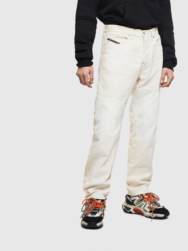 D-Macs 009BA, Blanc - Jeans