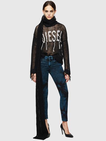 Diesel - D-Ollies JoggJeans 084AF, Noir/Gris foncé - Jeans - Image 7