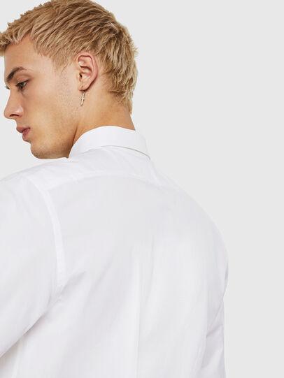 Diesel - S-BILL, Blanc - Chemises - Image 4