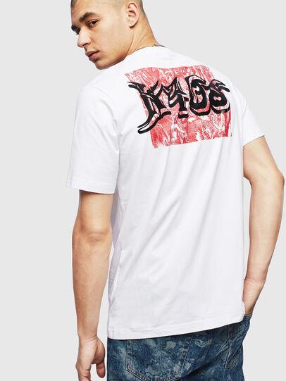 Diesel - T-JUST-T31, Blanc - T-Shirts - Image 2