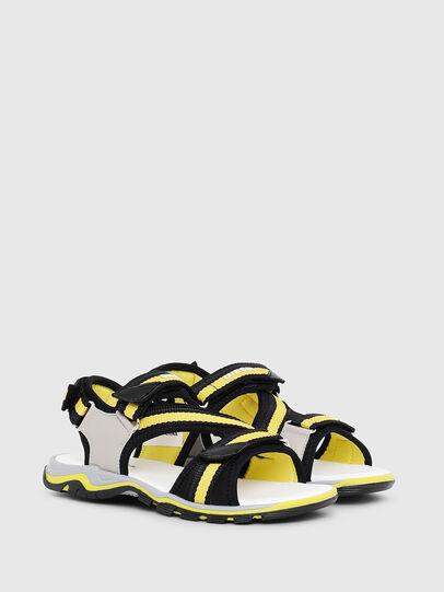 Diesel - SA 07 STRIPE CH, Gris/Noir - Footwear - Image 2
