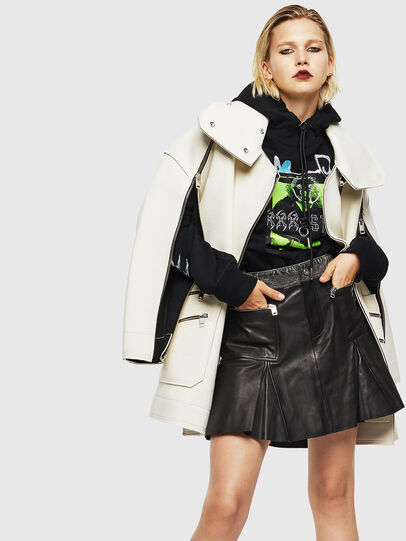 Diesel - F-MAGGY, Noir - Pull Cotton - Image 6