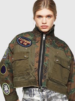 G-ANAPAY, Vert Militaire - Vestes