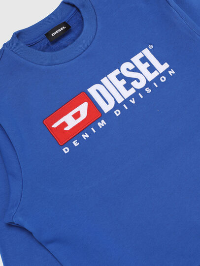 Diesel - SCREWDIVISION OVER, Bleu Céleste - Pull Cotton - Image 3