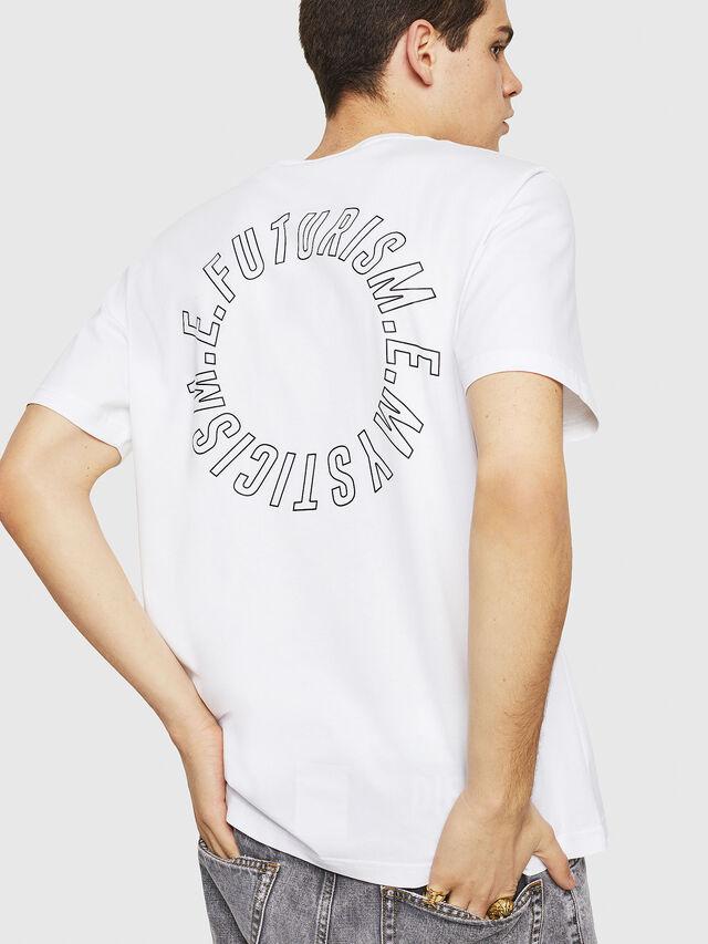 Diesel - T-JUST-Y19, Blanc - T-Shirts - Image 2
