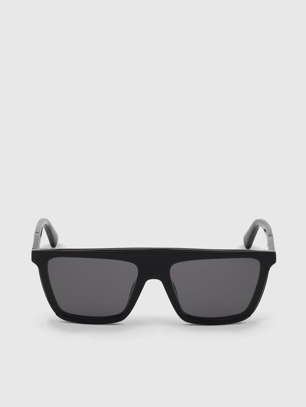 DL0323, Noir Brillant - Lunettes de soleil