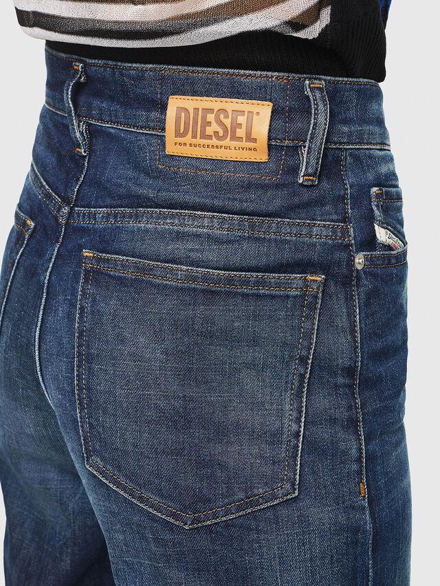 Diesel - Widee 0090W, Bleu Foncé - Jeans - Image 5