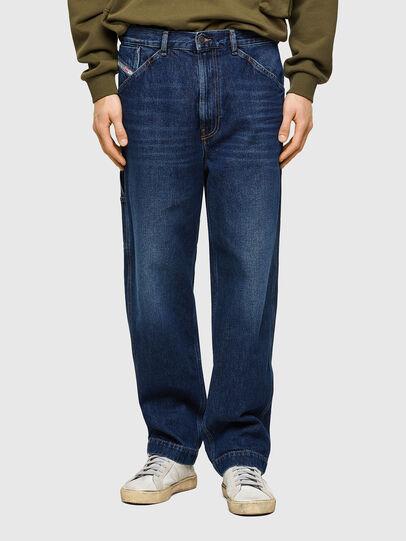 Diesel - D-Franky 009NE, Bleu Foncé - Jeans - Image 1