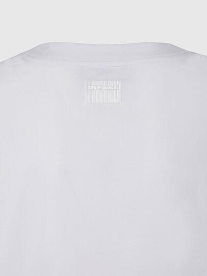 Diesel - T-RASSEL, Blanc - T-Shirts - Image 4