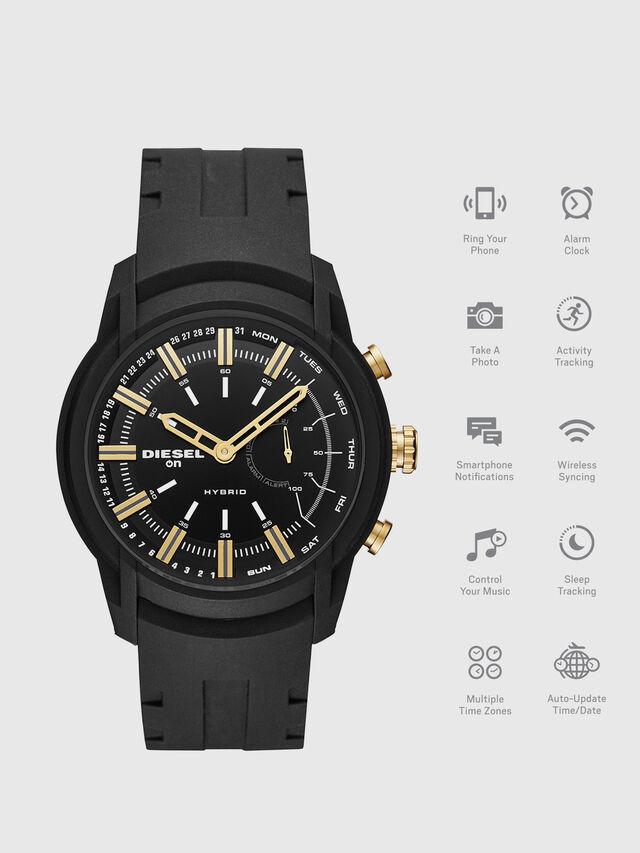 Diesel - DT1014, Noir - Smartwatches - Image 1