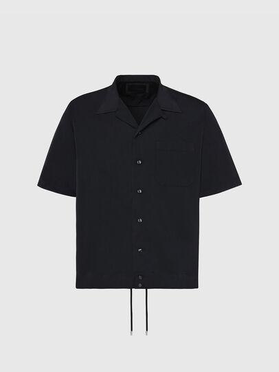Diesel - S-MOOL-A, Noir - Chemises - Image 1