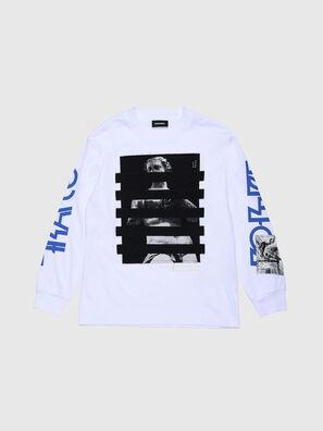 TLUCASLSYBJ OVER, Blanc - T-shirts et Hauts
