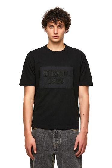 DieselXDiesel t-shirt avec empiècements à découpe brute