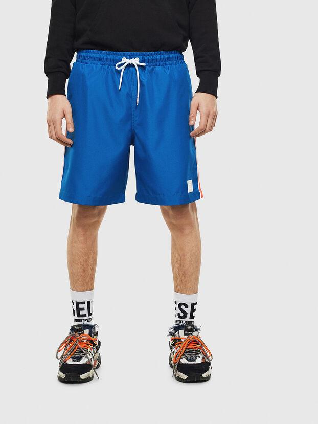 P-KEITH, Bleu - Shorts