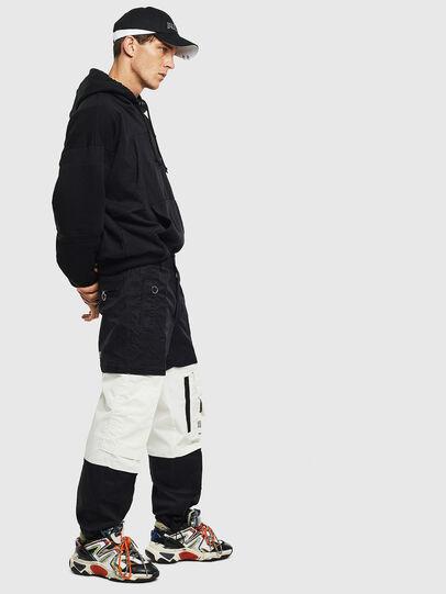 Diesel - P-MELTY, Noir/Blanc - Pantalons - Image 4