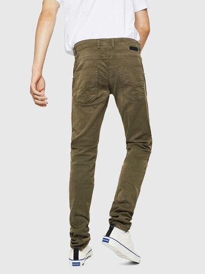 Diesel - Krooley Long JoggJeans 0670M, Vert Militaire - Jeans - Image 2
