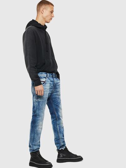 Diesel - Krooley JoggJeans 087AC, Bleu moyen - Jeans - Image 4