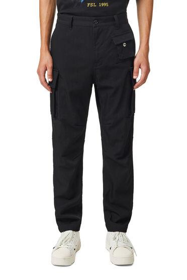 Pantalon cargo en laine performante