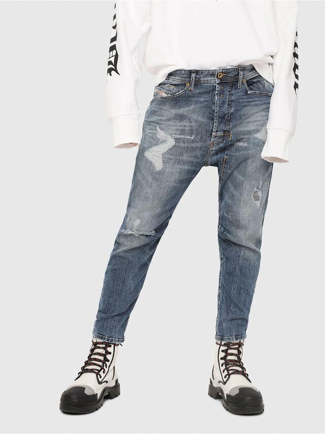 Diesel - Narrot 0090M, Bleu Clair - Jeans - Image 1
