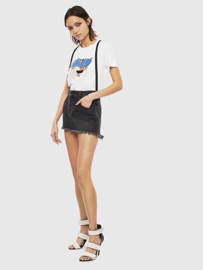 Diesel - T-SILY-S3, Blanc - T-Shirts - Image 5