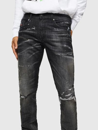 Diesel - Thommer JoggJeans 0098E, Noir/Gris foncé - Jeans - Image 3