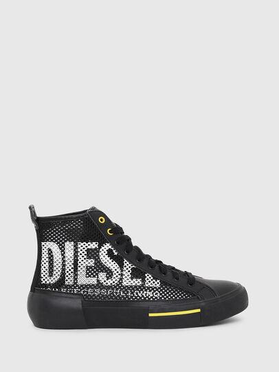 Diesel - S-DESE MID CUT, Noir/Jaune - Baskets - Image 1