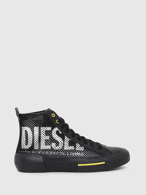 S-DESE MID CUT, Noir/Jaune - Baskets