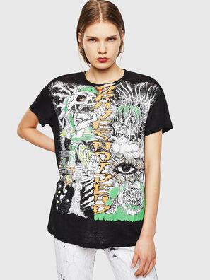 T-DARIA-YB, Noir - T-Shirts