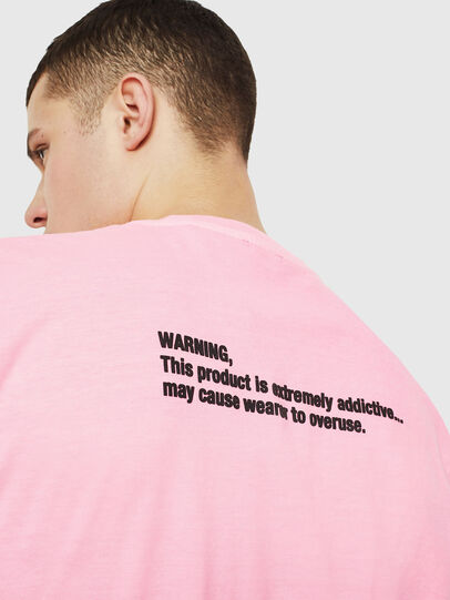 Diesel - T-JUST-NEON, Rose - T-Shirts - Image 7