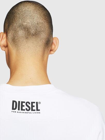 Diesel - S-BAY-BX4, Blanc - Pull Cotton - Image 6