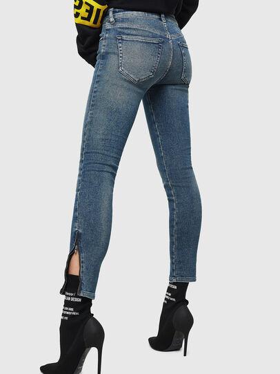 Diesel - Slandy Zip 083AL, Bleu moyen - Jeans - Image 2