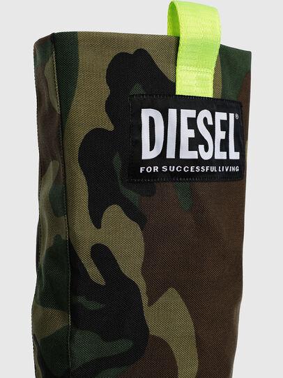 Diesel - D-SLANTY HOTK, Vert Camouflage - Bottes - Image 4