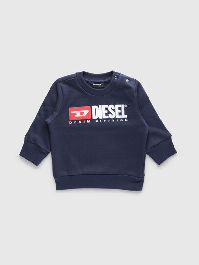 Diesel - SCREWDIVISIONB, Bleu Marine - Pull Cotton - Image 1