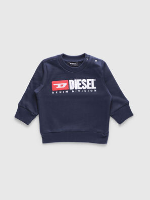 SCREWDIVISIONB, Bleu Marine - Pull Cotton