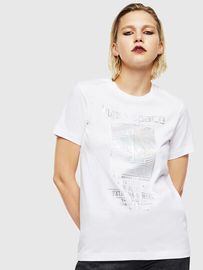 Diesel - T-SILY-YB, Blanc - T-Shirts - Image 1