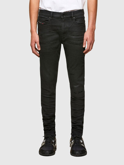 Diesel - D-Amny 009PZ, Noir/Gris foncé - Jeans - Image 1