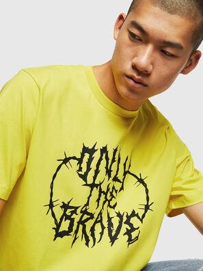 T-JUST-B23, Jaune - T-Shirts