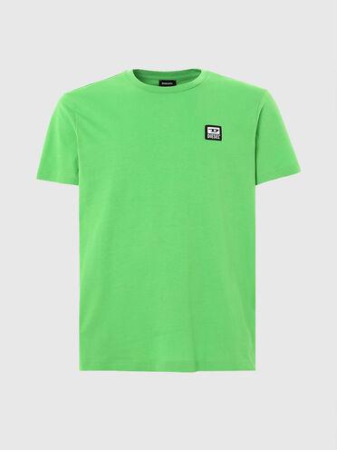 T-shirt avec empiècement logo D