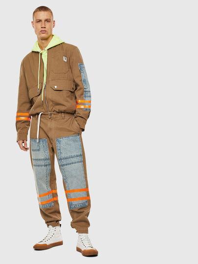 Diesel - P-CARUSO, Marron Clair - Pantalons - Image 7