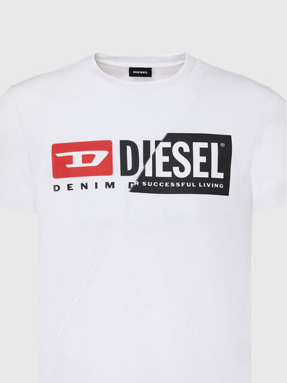 Diesel - T-DIEGO-CUTY, Blanc - T-Shirts - Image 3