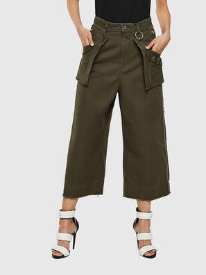 P-RAEY, Vert Militaire - Pantalons