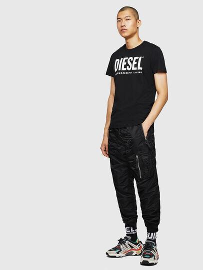 Diesel - T-DIEGO-LOGO, Noir - T-Shirts - Image 7