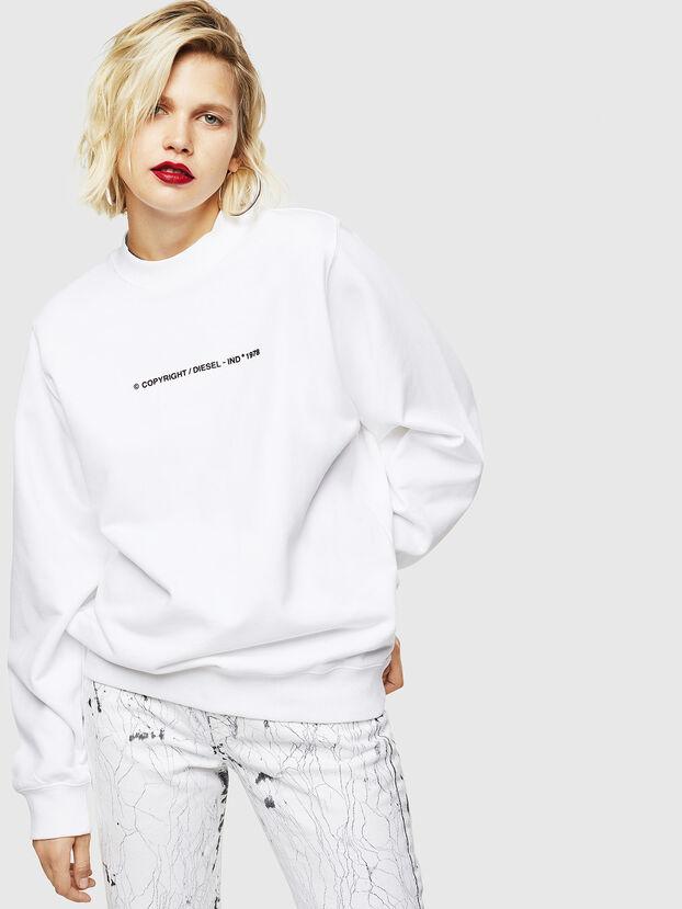 F-ANG-COPY, Blanc - Pull Cotton