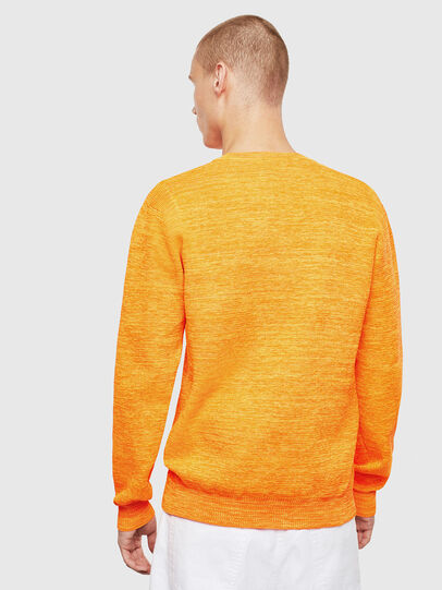 Diesel - K-SPECIALS, Orange - Pull Maille - Image 2