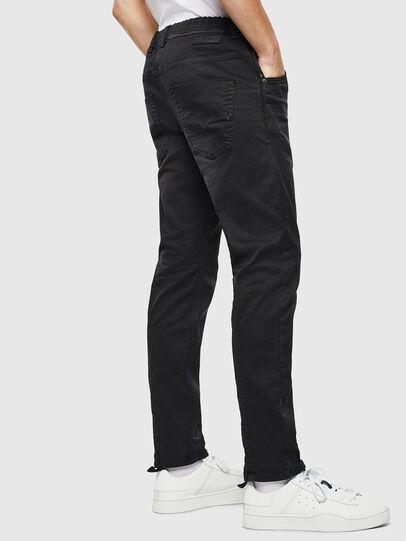Diesel - Krooley JoggJeans 0670M, Noir/Gris foncé - Jeans - Image 4