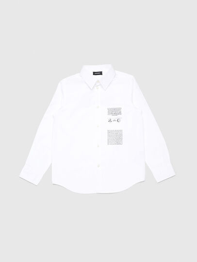 Diesel - CSVENPRINT, Blanc - Chemises - Image 1