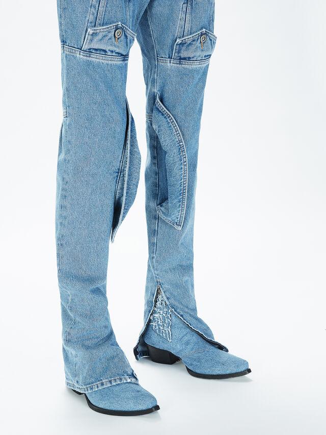Diesel - SOJP01, Bleu Clair - Pantalons - Image 5
