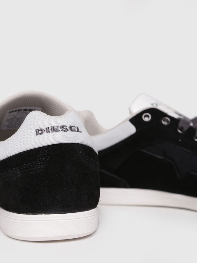 Diesel - S-HAPPY LOW, Noir - Baskets - Image 4