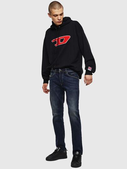 Diesel - Belther 0814W, Bleu Foncé - Jeans - Image 6